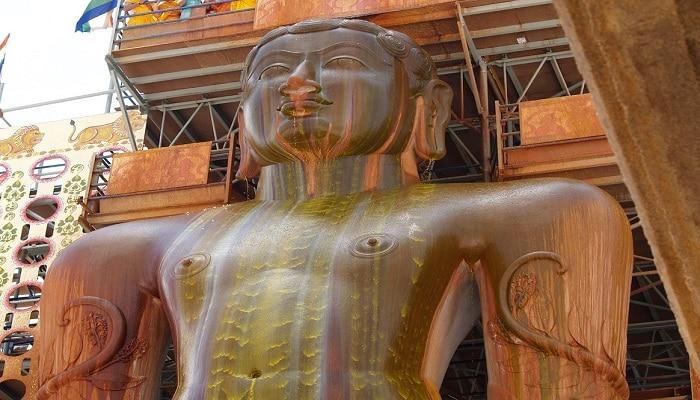 నేటి నుండి బాహుబలి మహామస్తకాభిషేక ఉత్సవాలు ప్రారంభం