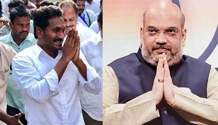 అమిత్ షాతో వైఎస్ జగన్ భేటీ