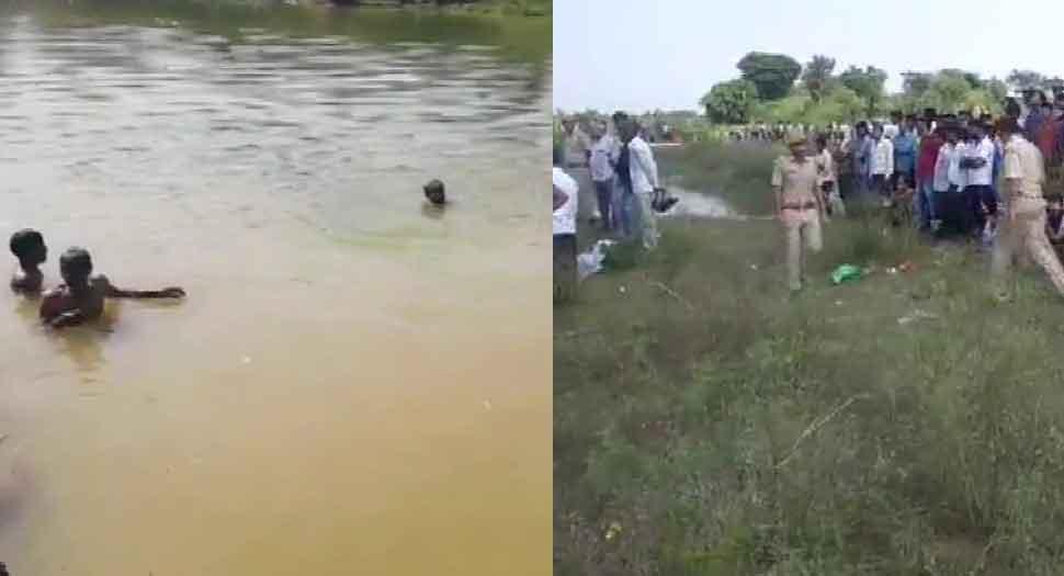 దుర్గాదేవి నిమజ్జనంలో నదిలో మునిగి 10 మంది మృతి!