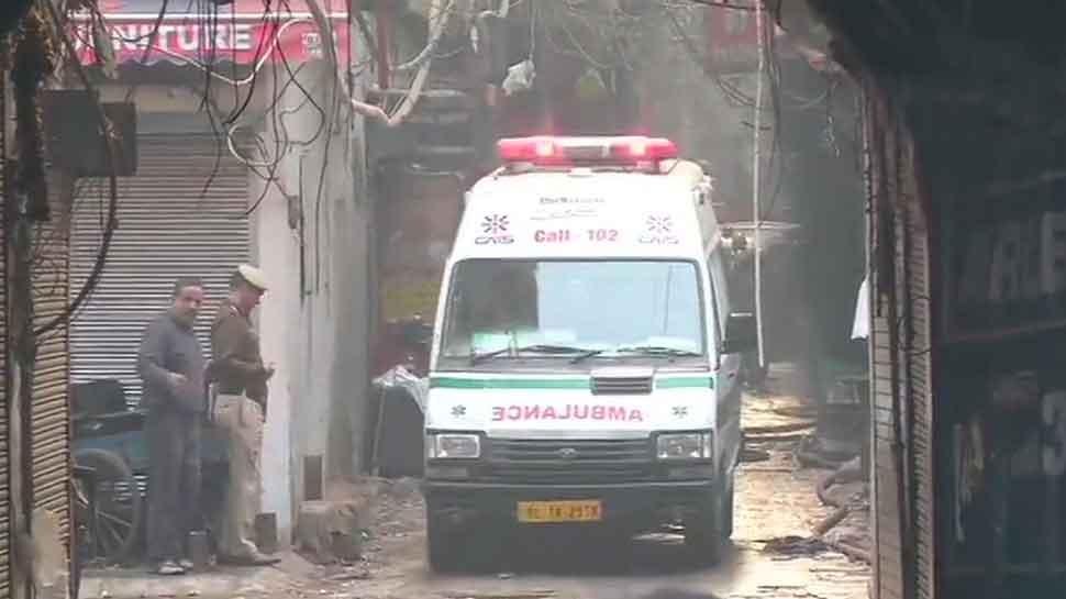 Delhi fire accident   అప్డేట్: ఢిల్లీ అగ్ని ప్రమాదంలో 43కి చేరిన మృతుల సంఖ్య