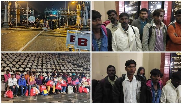 Pakistan handover AP fishermen to BSF: పాక్ చెర నుంచి క్షేమంగా తిరిగొచ్చిన ఏపీ జాలర్లు