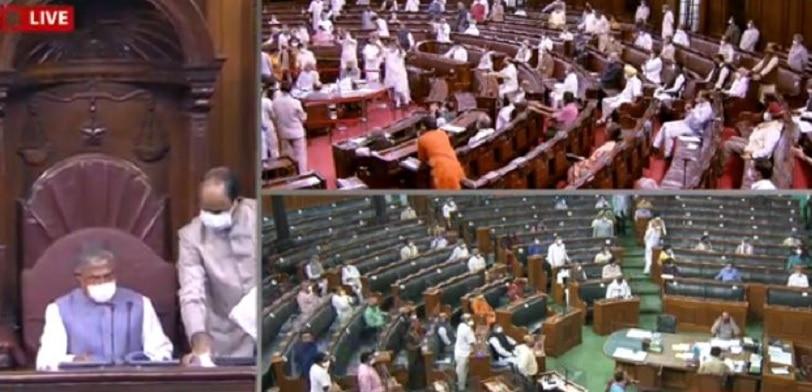 Agriculture bills: వ్యవసాయ బిల్లులకు రాజ్యసభలో ఆమోదం