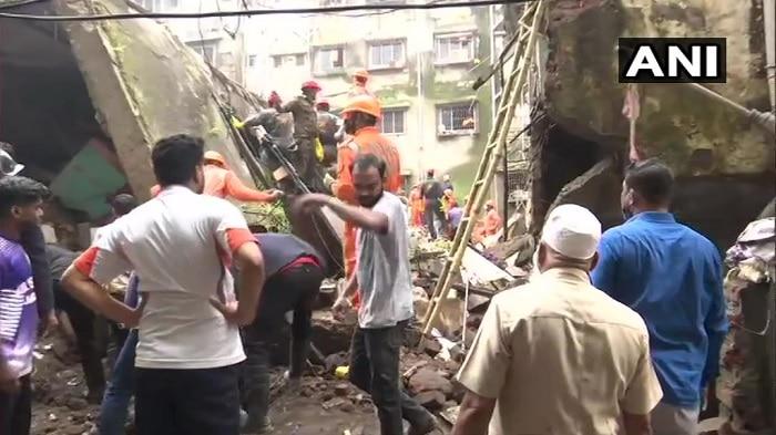 Building Collapses:18కి చేరిన భివండి మృతుల సంఖ్య