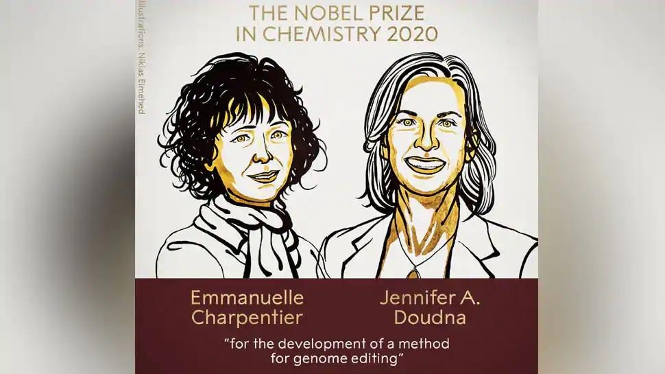 Nobel Prize in Chemistry: ఇద్దరు మహిళా శాస్త్రవేత్తలను వరించిన నోబెల్