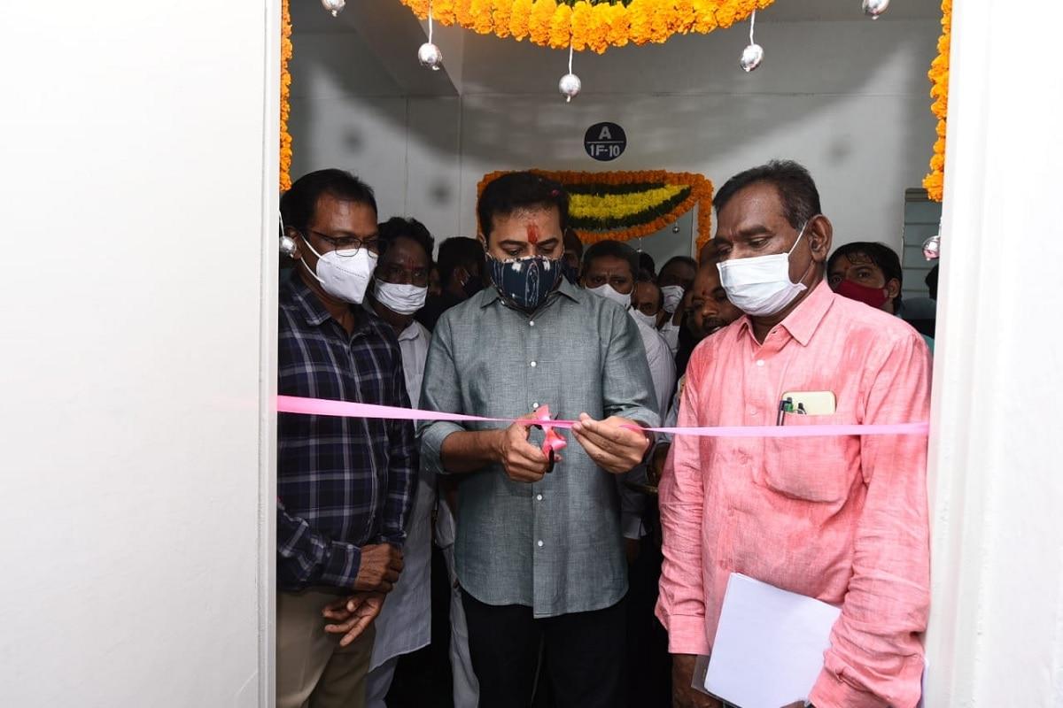 Double BedRoom Houses in Hyderabad: డబుల్ బెడ్ రూమ్ ఇళ్లను ప్రారంభించిన మంత్రి కేటీఆర్