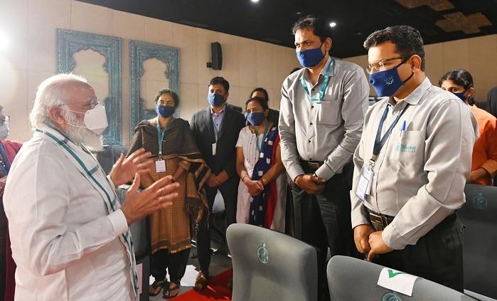 Narendra Modi: భారత్ బయోటెక్ శాస్త్రవేత్తలను అభినందించిన ప్రధాని