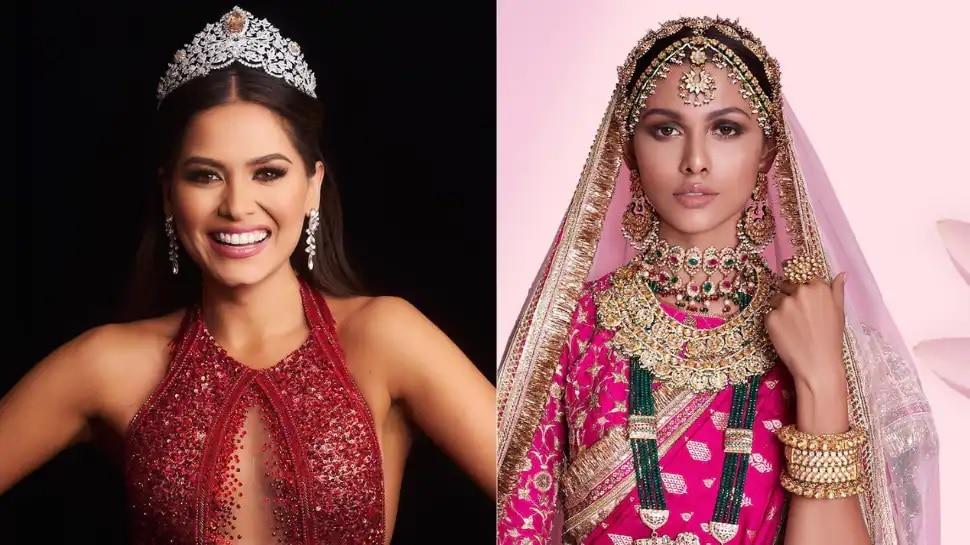 Miss Universe 2020: మెక్సికో భామ ఆండ్రియా మెజాకు విశ్వసుందరి కిరీటం, టాప్ 5లో భారత సుందరి