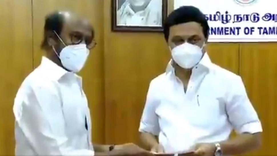 Tamil Nadu: కోవిడ్19పై పోరాటానికి Rajinikanth, నటుడు Vikram భారీ విరాళం