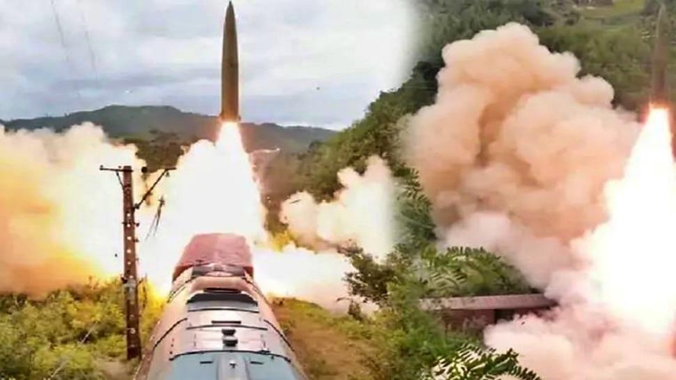 North Korea: రైలు నుంచి క్షిపణిని పరీక్షించిన ఉత్తర కొరియా...UN ఆందోళన!