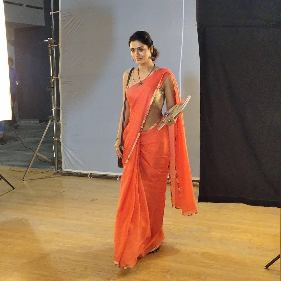 Actress-Payal-Rajput-in-saree-pics