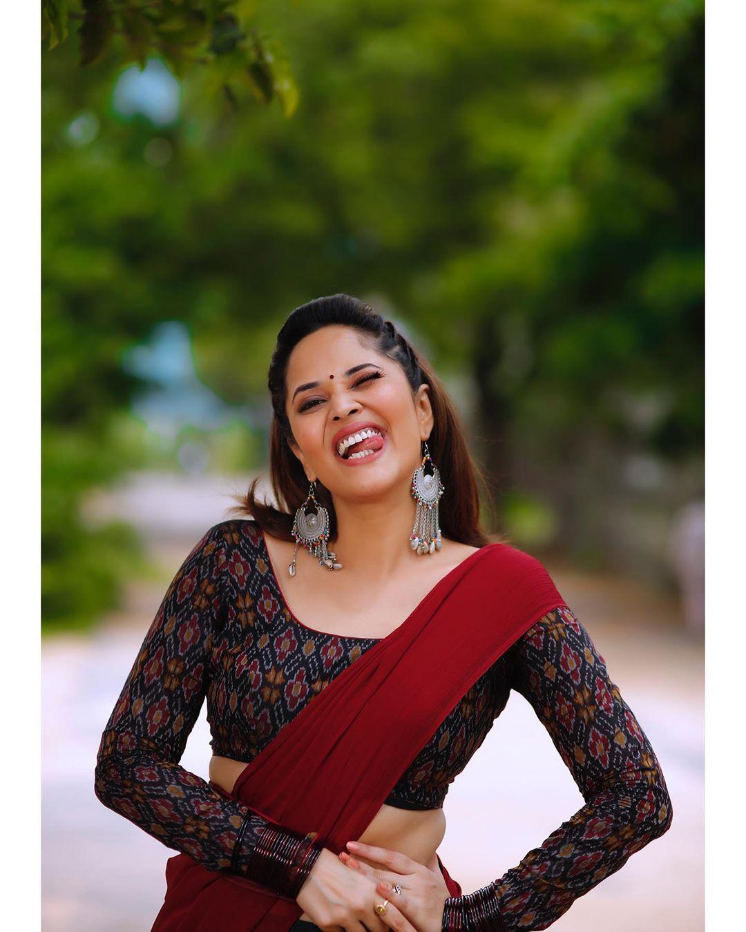 Anasuya Bharadwaj looks gorgeous