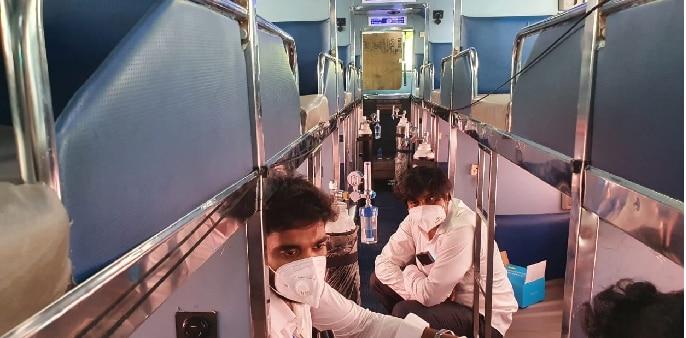 Oxygen on wheels Bus