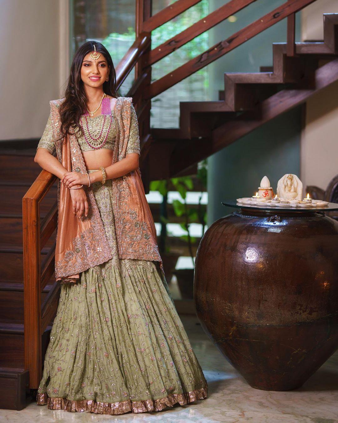Miheeka Bajaj Rana Daggubati Pre wedding Shoot