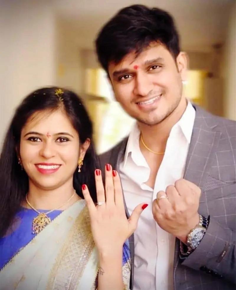 Nikhil Siddharth Engagement Photos