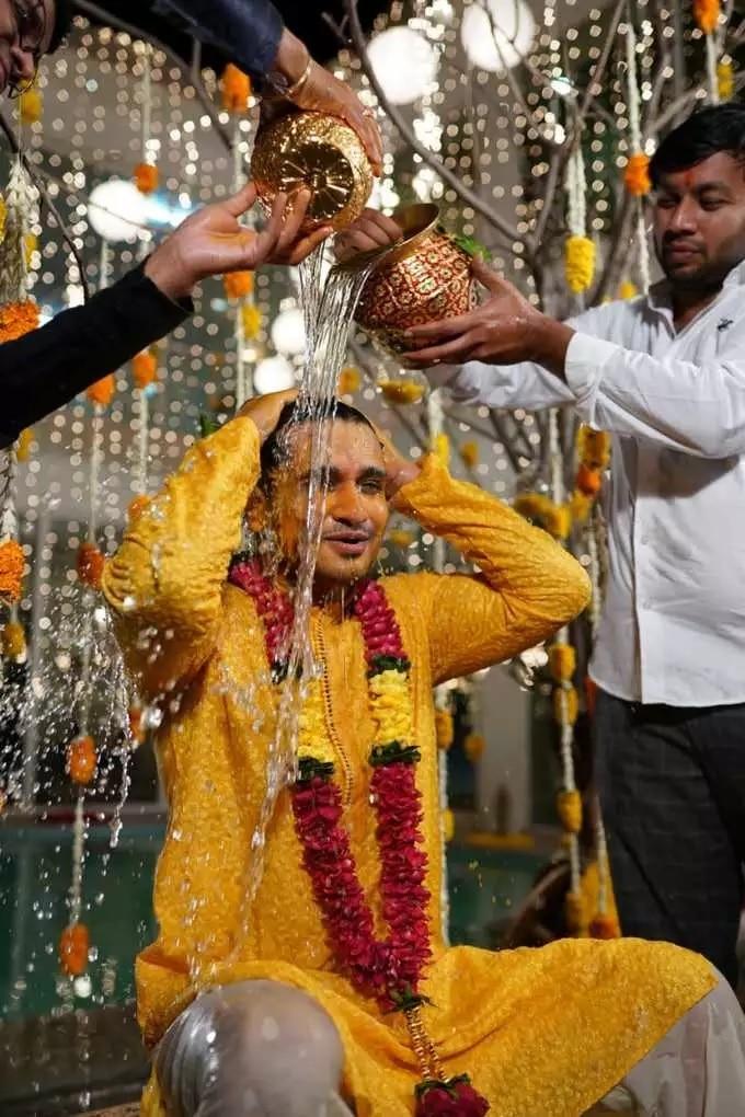Actor Nikhil Siddharth Wedding Photos