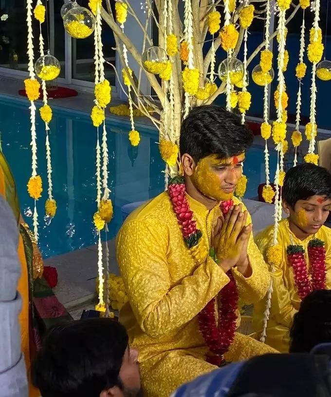 Nikhil Siddharth Pallavi varma Wedding Photos