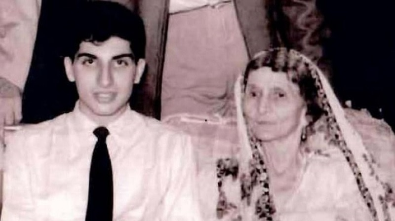 Ratan Tata with grandmother