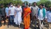YS Sharmila Padayatra: వైఎస్ షర్మిల పాద యాత్రలో పాల్గొన్న టాలీవుడ్ ప్రముఖ యాంకర్ శ్యామల