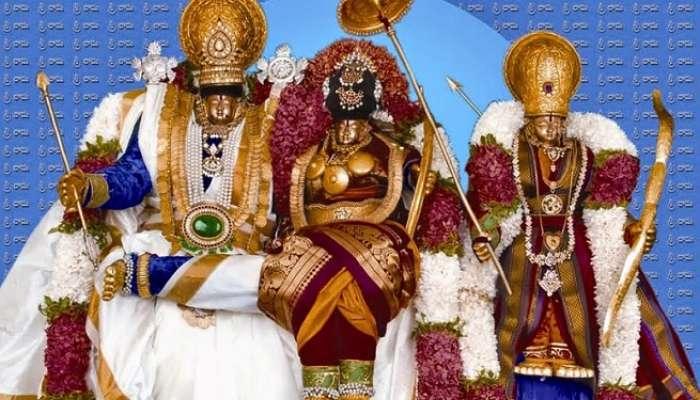 శ్రీరామ నామస్మరణతో మార్మోగిన భద్రాద్రి