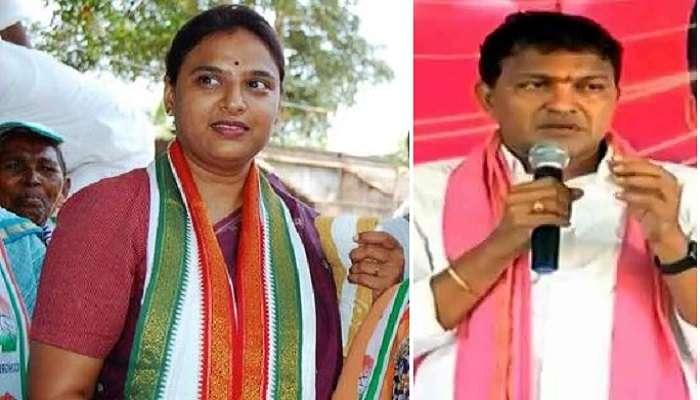 హుజూర్నగర్ ఉప ఎన్నిక ఓట్ల లెక్కింపు.. సంబరాల్లో సైదిరెడ్డి
