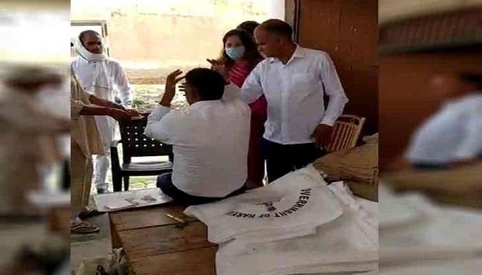 Haryana: మార్కెట్ అధికారిపై దాడి చేసిన బీజేపీ నాయకురాలు..