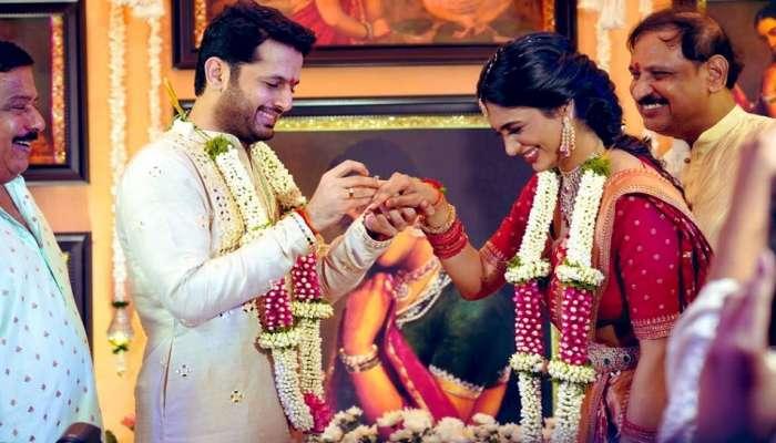 Nithin Engagement: ప్రేయసి షాలినితో హీరో నితిన్ ఎంగేజ్మెంట్
