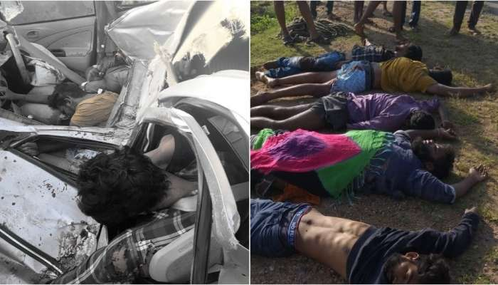 Road Accident: నల్గొండలో ఘోర రోడ్డు ప్రమాదం.. ఐదుగురి మృతి
