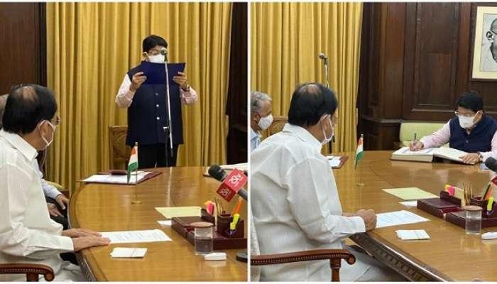 AP: రాజ్యసభ సభ్యుడిగా ప్రమాణం చేసిన పరిమళ్ నత్వానీ