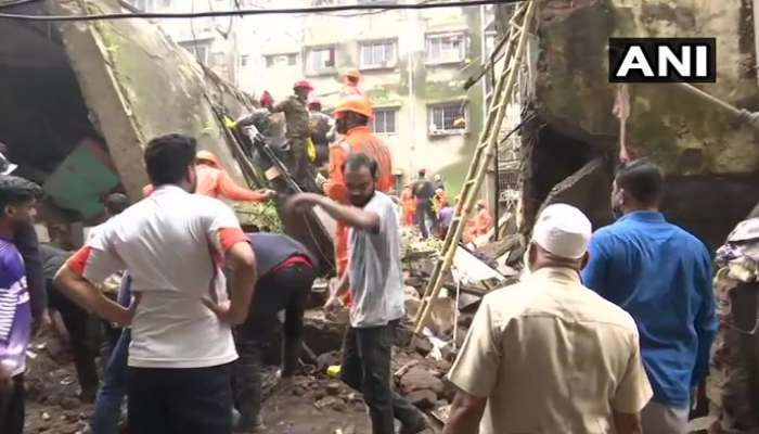 Building Collapses: భివండిలో కూలిన భవనం.. 10 మంది మృతి