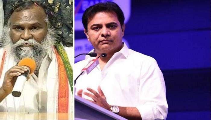 Jagga Reddy thanks KTR: మంత్రి కేటీఆర్కు కృతజ్ఞతలు: జగ్గారెడ్డి
