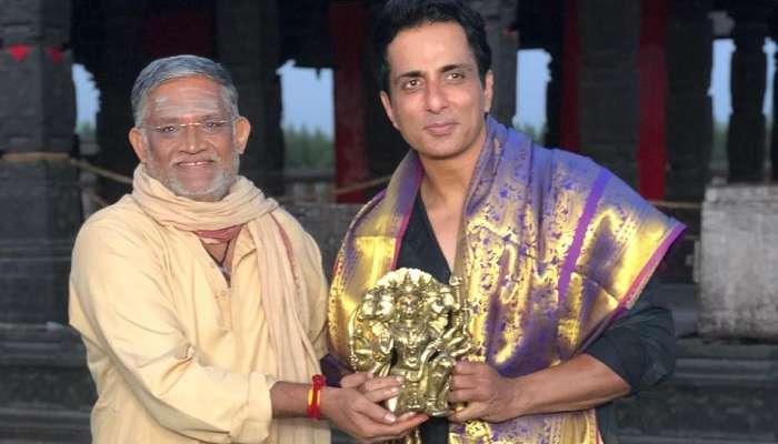 Sonu Sood: ఆచార్య సెట్స్లో రియల్ హీరో సోనూసూద్కు సత్కారం