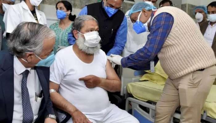 Anil Vij: కోవ్యాక్సిన్ తీసుకున్న హర్యానా మంత్రికి కరోనా పాజిటివ్