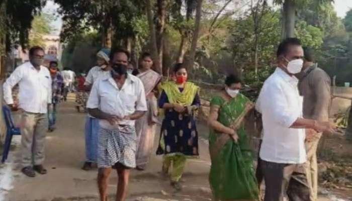 Ap first phase panchayat elections polling: తొలిదశ పంచాయితీ ఎన్నికల పోలింగ్, జిల్లాల వారీగా పోలింగ్ శాతం వివరాలు
