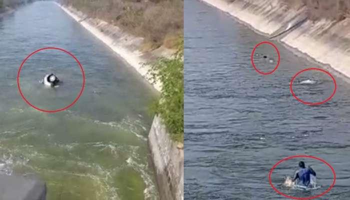 Warangal Rural జిల్లాలో విషాదం, SRSP Canalలోకి కారు దూసుకెళ్లడంతో ఇద్దరు మృతి, ఒకరు గల్లంతు