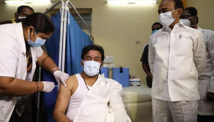 Kishan Reddy Receives COVID-19 Vaccine: కరోనా వ్యాక్సిన్ తీసుకున్న కేంద్ర మంత్రి కిషన్ రెడ్డి, ప్రజలకు సందేశం