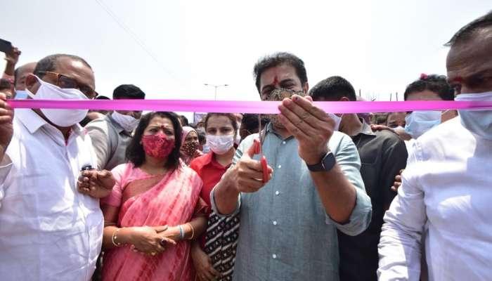 Road Under Bridge: కూకట్పల్లి - హైటెక్సిటీ మధ్య ఆర్యూబీ ప్రారంభించిన కేటీఆర్, ఆ వాహనదారులకు ఊరట