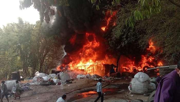 Fire Accident: హైదరాబాద్లో భారీ అగ్నిప్రమాదం, పక్కనే పెట్రోల్ బంక్, మంటలార్పుతున్న 10 ఫైరింజన్లు