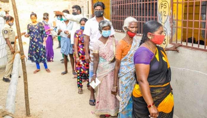AP Parishad Election 2021: ఏపీలో కొనసాగుతున్న పరిషత్ ఎన్నికలు, పోలింగ్ కేంద్రాలకు ఓటర్ల క్యూ