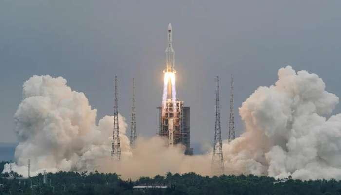 తప్పిన China Rocket ముప్పు, హిందూ మహాసముద్రంలో కూలిన చైనా రాకెట్ Long March 5B శకలాలు