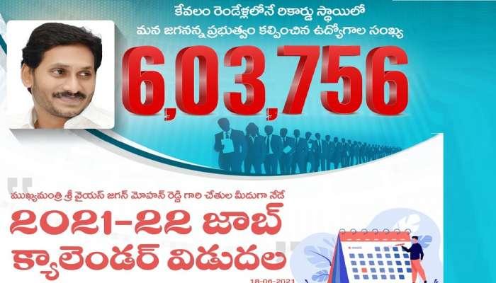 AP Jobs Calendar: ఏపీ జాబ్స్ క్యాలెండర్ విడుదల చేసిన ఏపీ సీఎం వైఎస్ జగన్