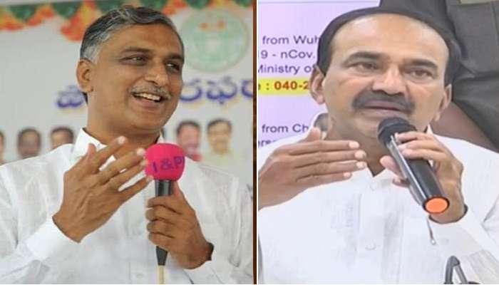 Huzurabad bypolls: Harish Rao ఒక రబ్బర్ స్టాంప్ ఆర్థిక శాఖ మంత్రి: Eetala Rajender