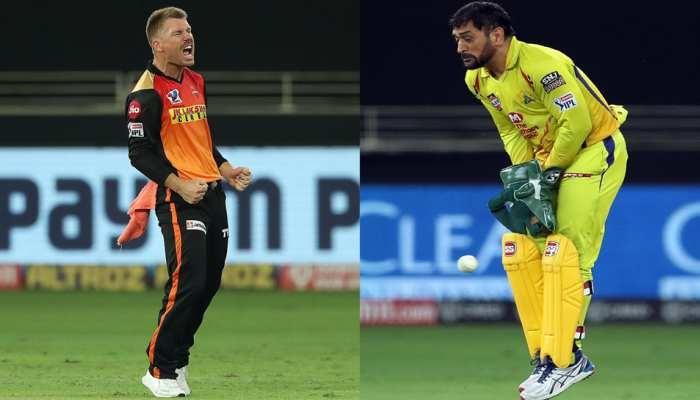 IPL 2020 CSK vs SRH: ఫోటోల్లో మొత్తం మ్యాచ్ హైలైట్స్